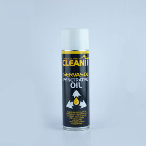 An aerosol spray can of Servasol Penetrating Oil